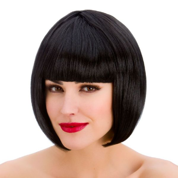 Ladies Diva Wig for 90s Bob 20s Fancy Dress Cosplay Outfit